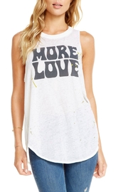 Chaser More Love Tank - Front cropped