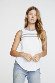 Chaser Muscle Tank With Stripes - Product Mini Image