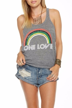Shoptiques Product: One Love Rainbow Top