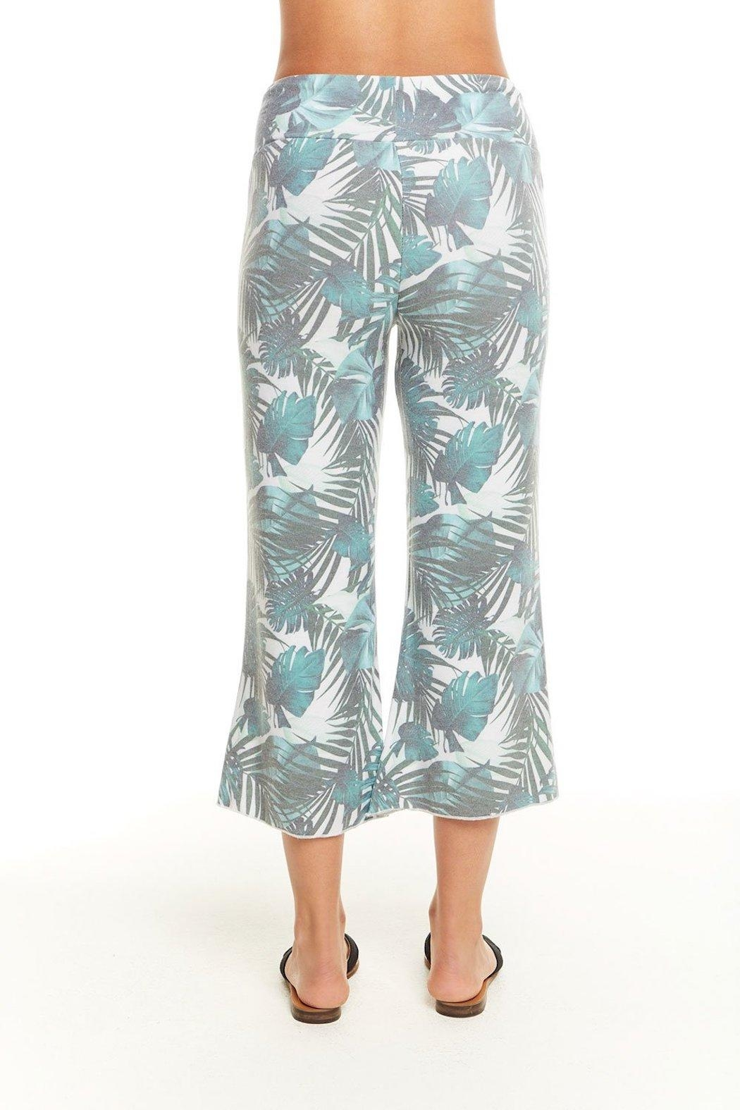 Chaser Palm Print Pant - Front Full Image