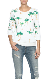 Chaser Palm Tree Sweatshirt - Front cropped