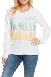 Chaser Peace Beach Sweatshirt - Front cropped
