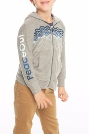 Chaser Peace Out Hoodie - Back cropped
