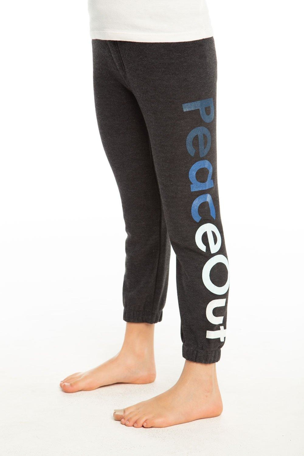 Chaser Peace Out Sweatpants - Front Cropped Image