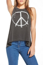 Chaser Peace Sign Tank - Front cropped