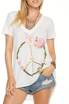 Shoptiques Product: Peace Wreath Top