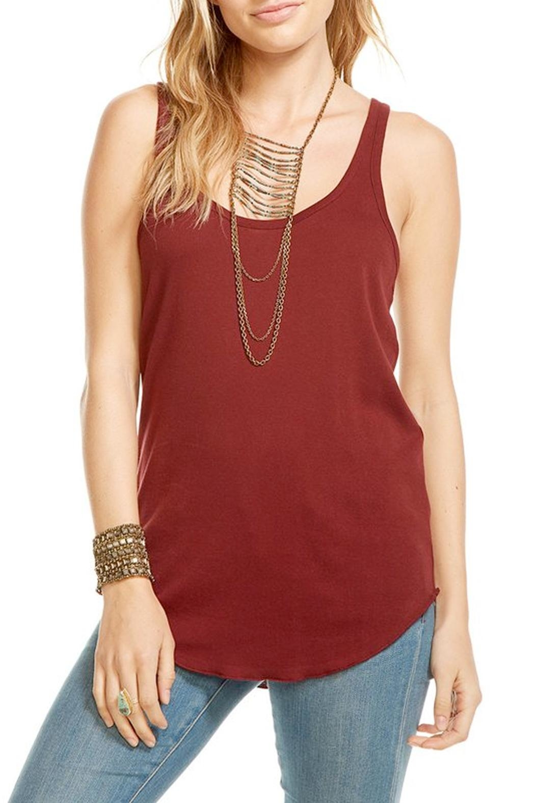 Chaser Ruby Racerback Tank Top - Main Image