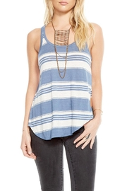 Chaser Striped Racerback Tank Top - Product Mini Image