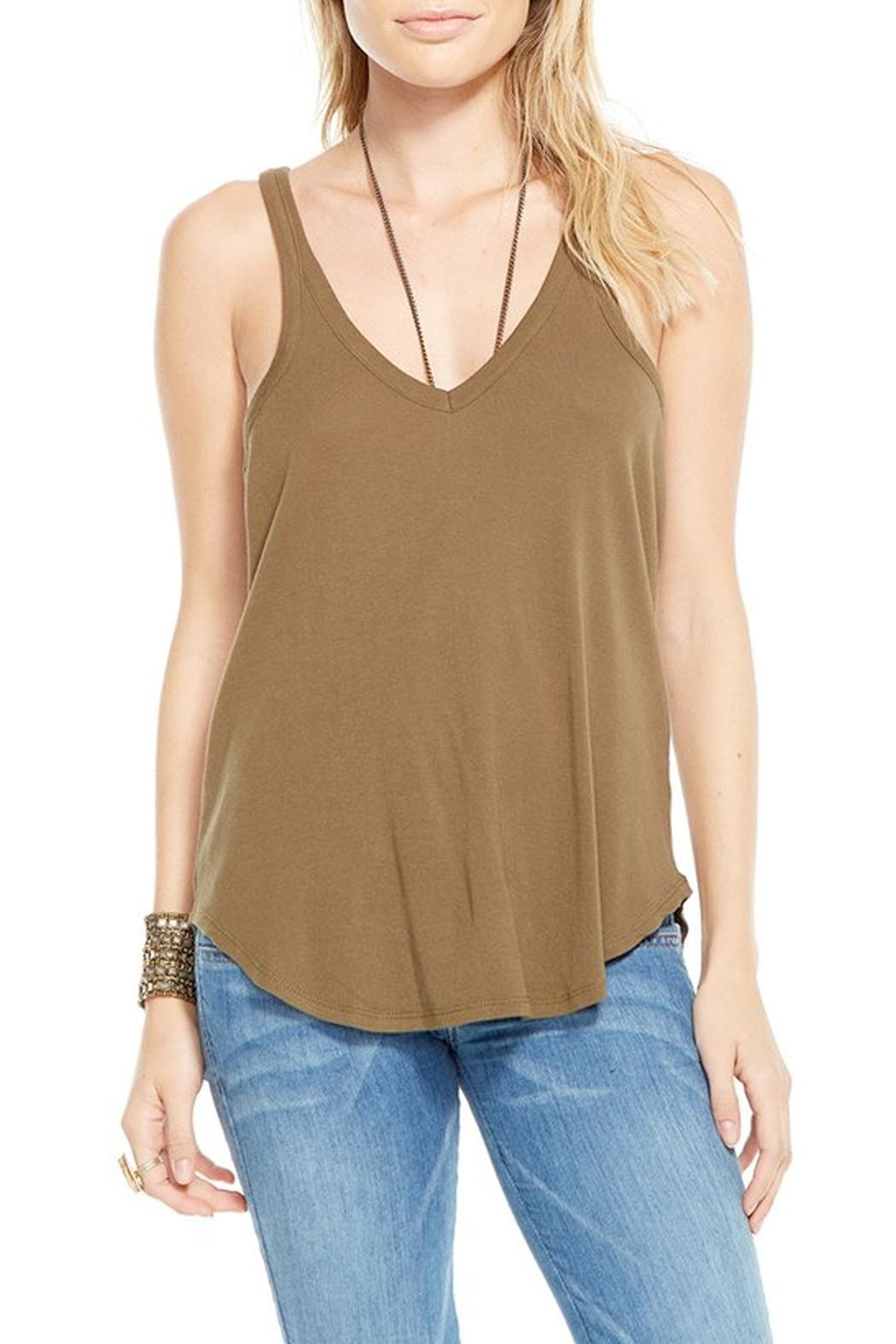 Chaser Moss Racerback Tank Top - Main Image