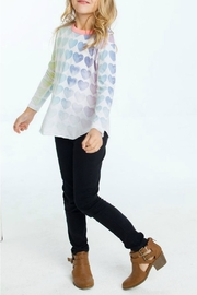 Chaser Rainbow Hearts Top - Product Mini Image