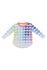 Chaser Rainbow Hearts Tee - Product Mini Image