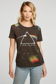 Chaser Rainbow Splatter Tee - Front cropped