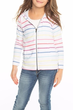 Chaser Rainbow Stripe Hoodie - Product List Image