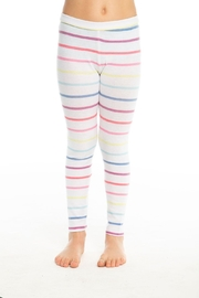 Chaser Rainbow Stripe Legging - Product Mini Image