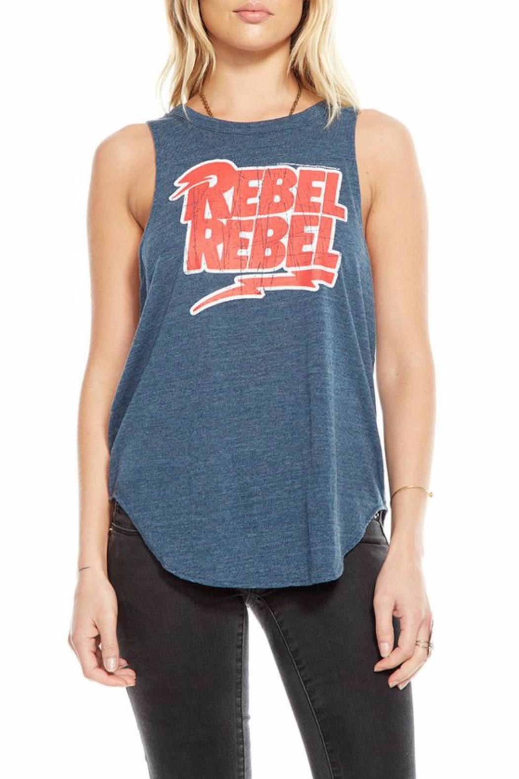 Chaser Rebel Tank - Front Cropped Image