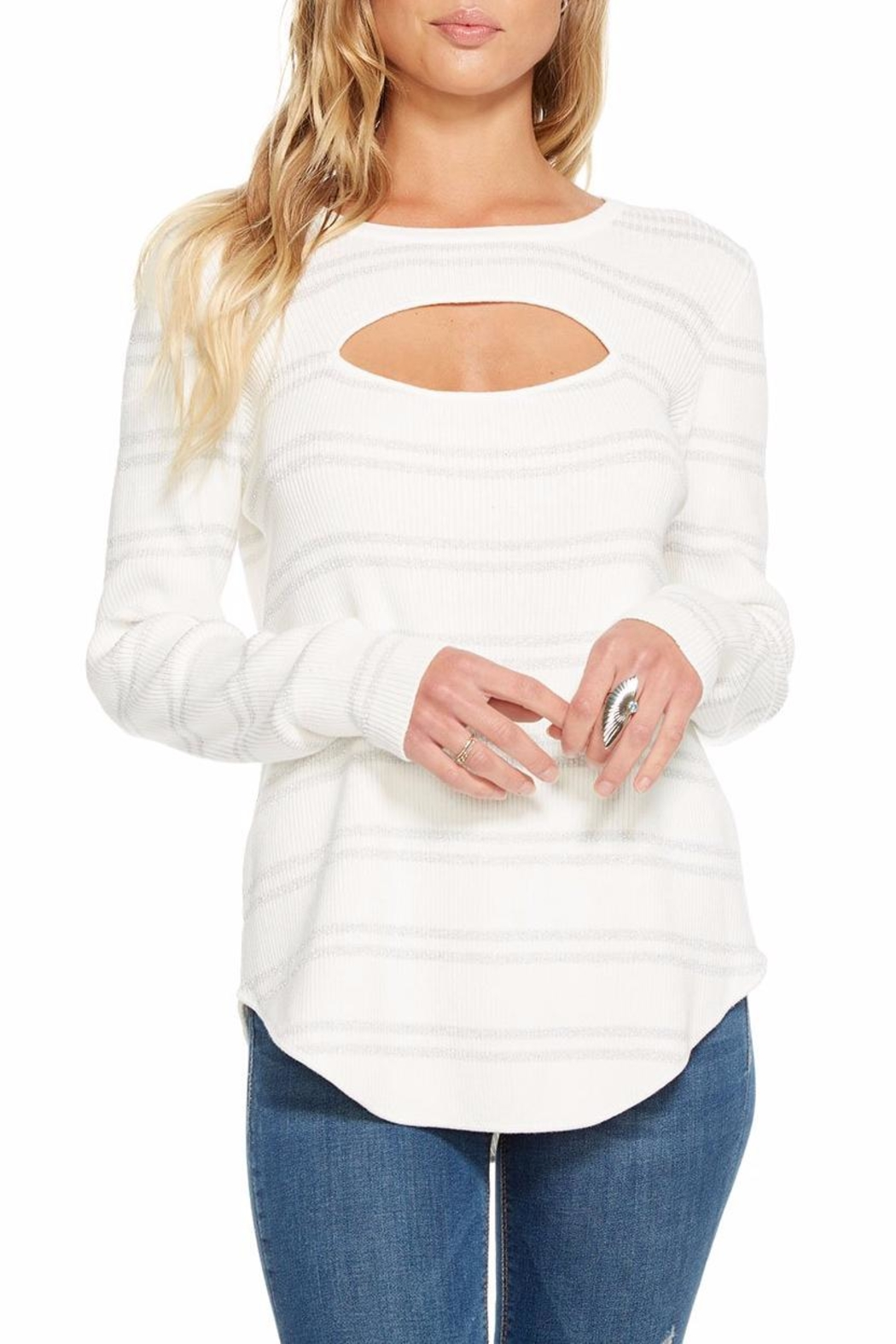 Chaser Rib Double-Vent Sweater - Main Image