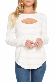Chaser Rib Double-Vent Sweater - Product Mini Image