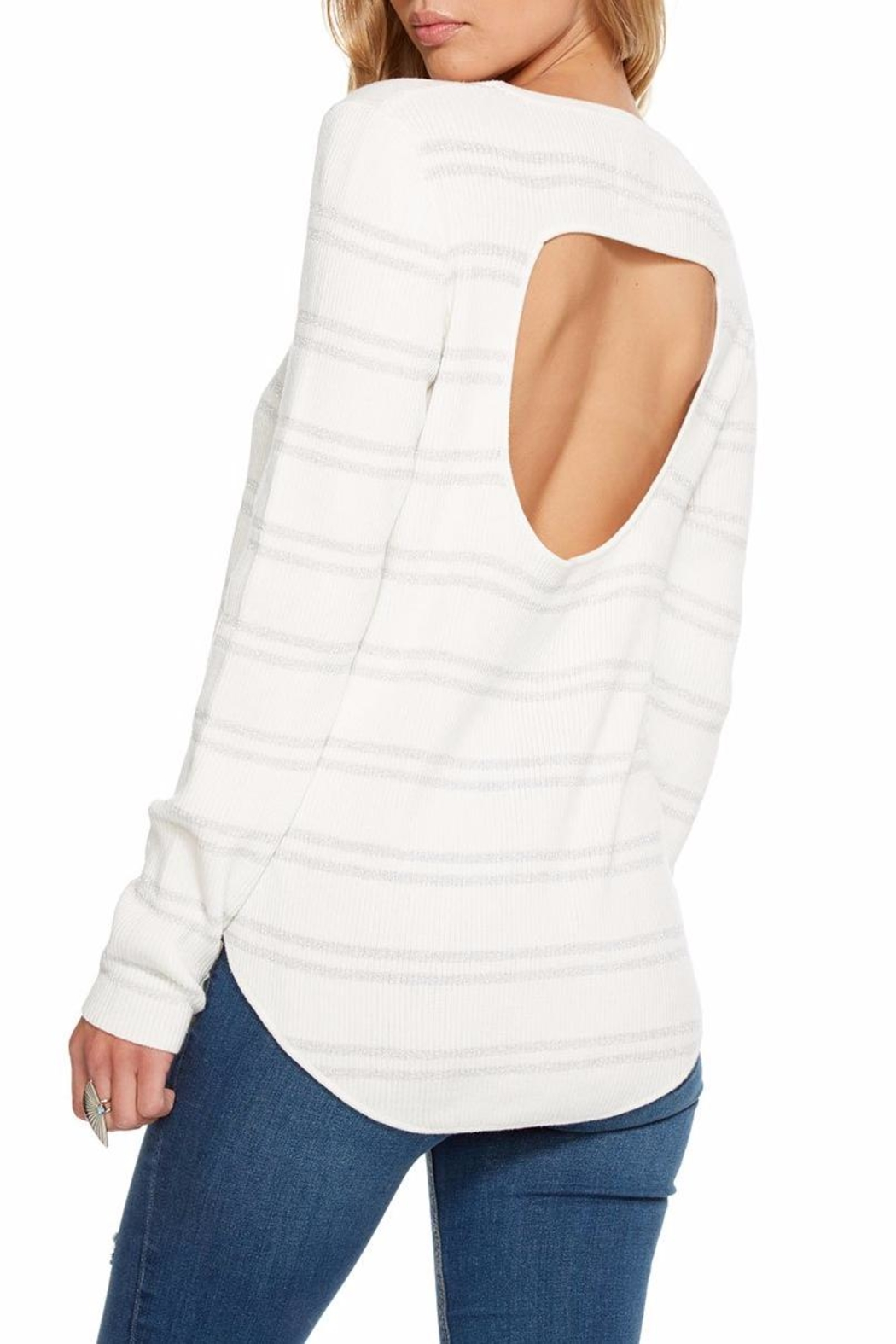 Chaser Rib Double-Vent Sweater - Front Full Image