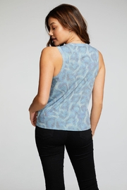 Chaser Rpet Muscle Tee - Front full body