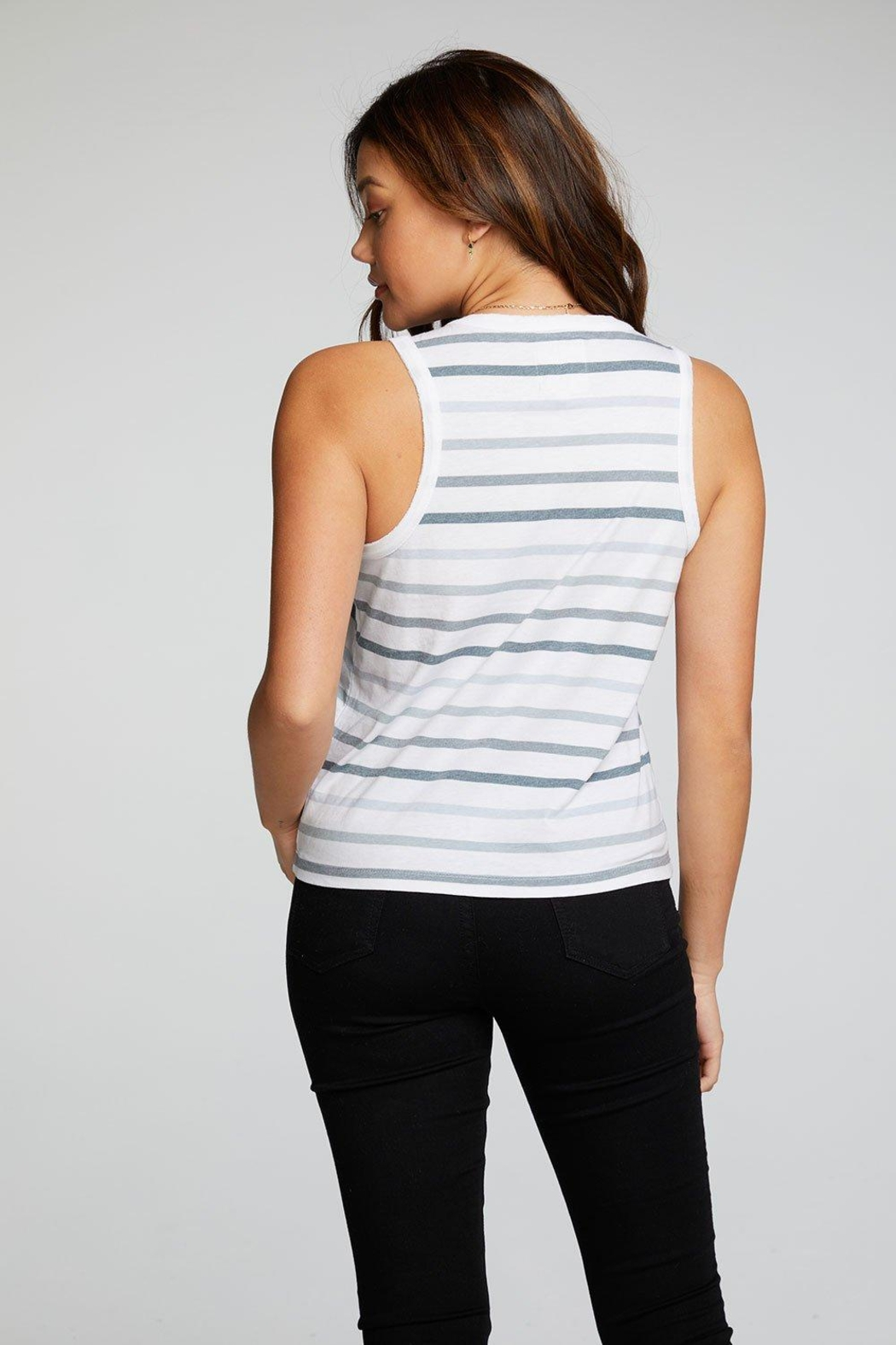 Chaser Rpet Muscle Tee - Front Full Image
