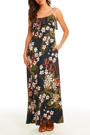 Chaser Ruffle Maxi Dress - Product Mini Image