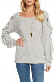 Chaser Ruffle Open-Neck Raglan - Product Mini Image