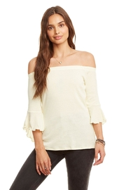 Chaser Ruffle Top - Product Mini Image