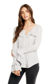 Chaser Ruffle Top - Front cropped
