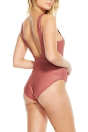 Chaser Rusty Pink Swimsuit - Front full body