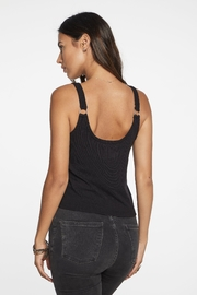 Chaser Scoop Ring Cami - Front full body