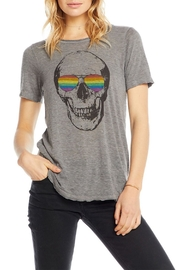 Chaser Shaded Skull Tee - Side cropped