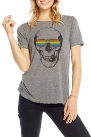 Chaser Shaded Skull Tee - Product Mini Image