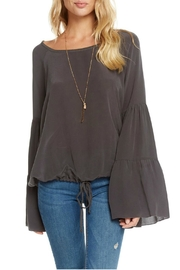 Chaser Silk Boho Top - Front cropped