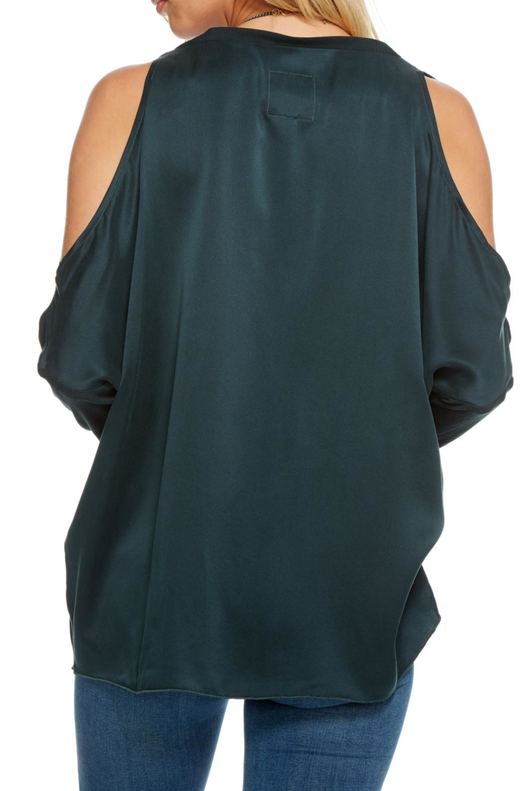 Chaser Silk Charmeuse Blouse - Side Cropped Image