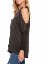 Chaser Silk Charmeuse Cold-Shoulder - Front full body