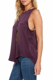 Chaser Silk Charmeuse T-Back - Front full body