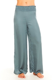 Chaser Silky Smocked Pant - Front cropped