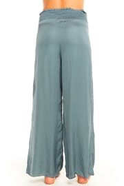 Chaser Silky Smocked Pant - Side cropped