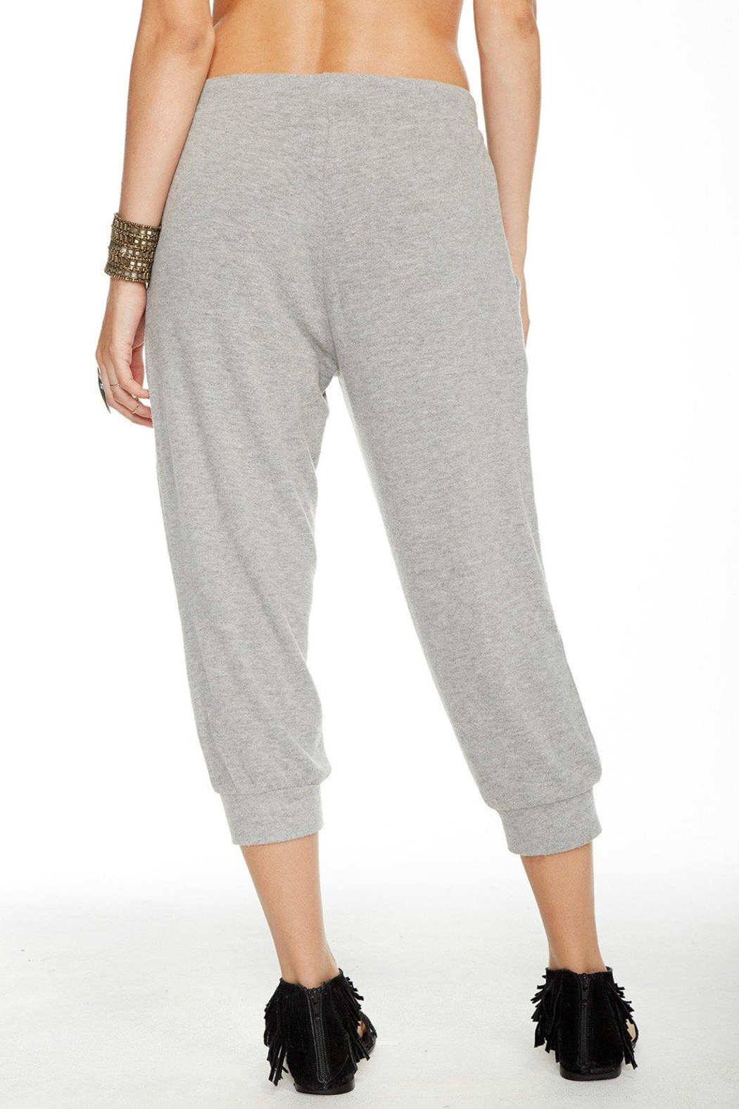 Chaser Slouchy Cropped Pant - Side Cropped Image