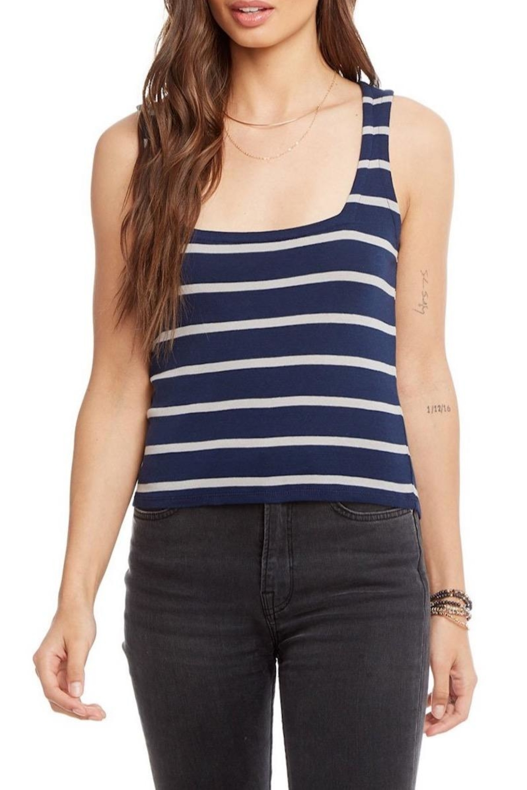 Chaser Square Neck Tank - Main Image