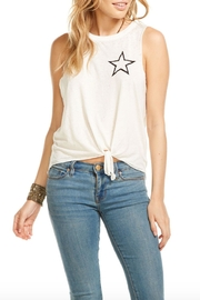 Chaser Star Tie Tank - Front cropped