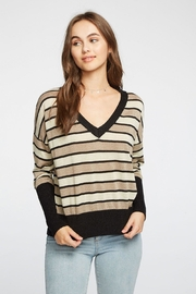 Chaser Striped Boxy Vneck - Product Mini Image