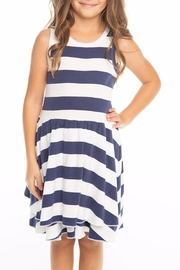 Chaser Striped Tank Dress - Product Mini Image