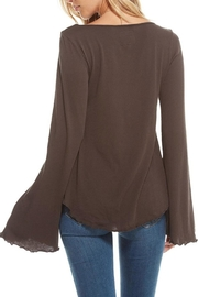 Chaser Sweetheart Tie-Front Top - Side cropped