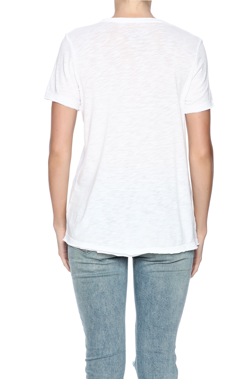 Chaser Printed Tee - Back Cropped Image