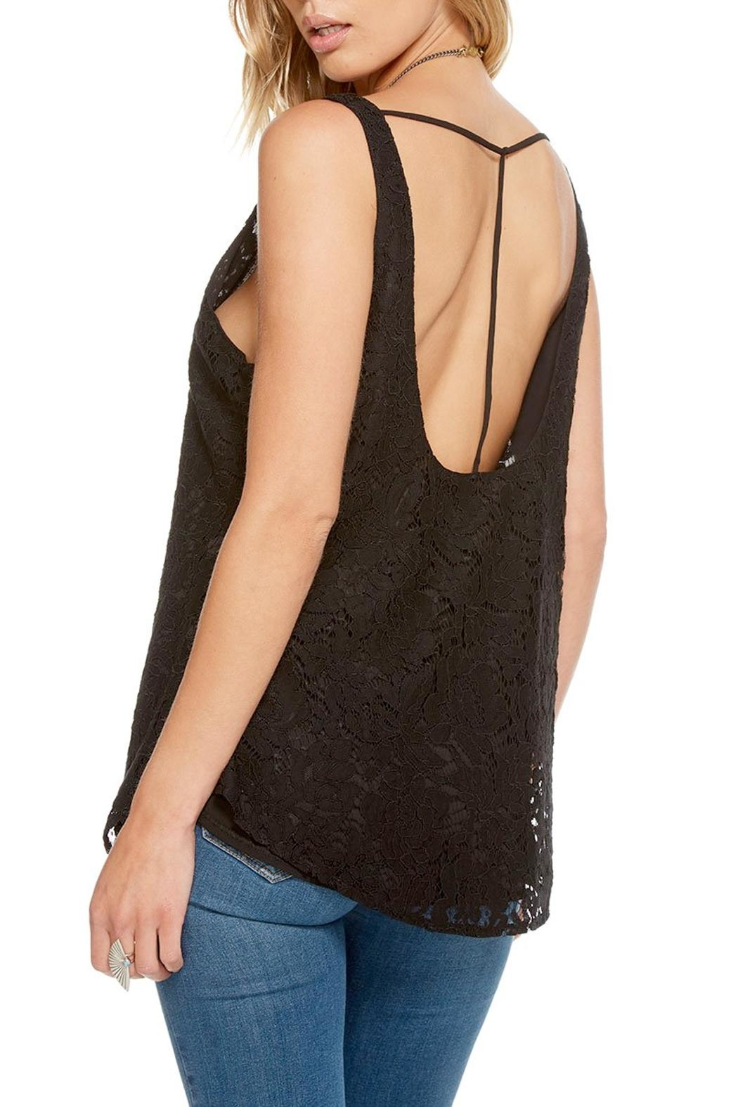 Chaser T-Back Lace Tank - Front Full Image