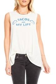 Chaser Tacos Are Life Top - Product Mini Image