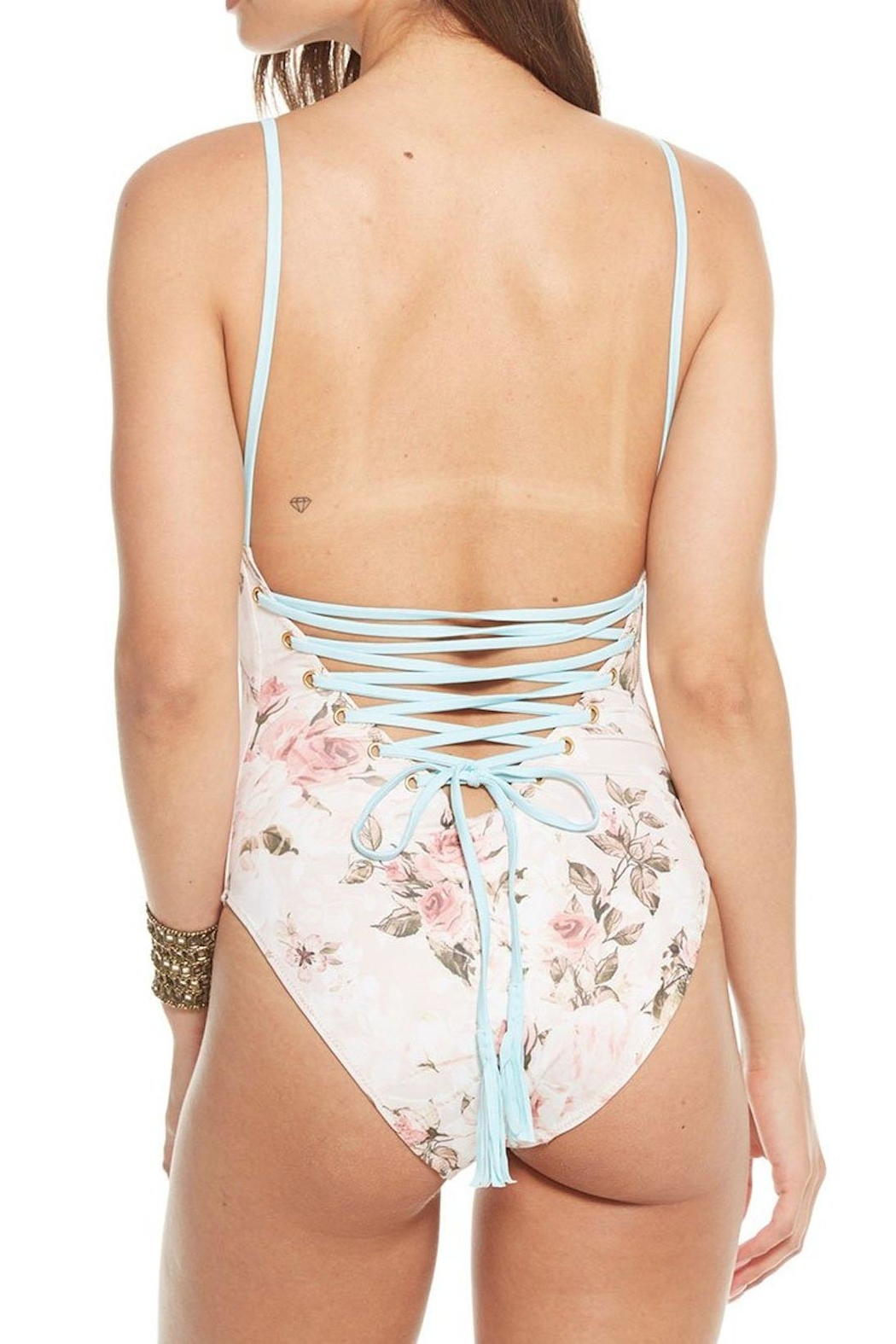 Chaser Tahitian Bloom Swimsuit - Front Full Image