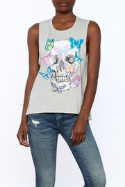 Chaser Floral Skull Tank - Product Mini Image