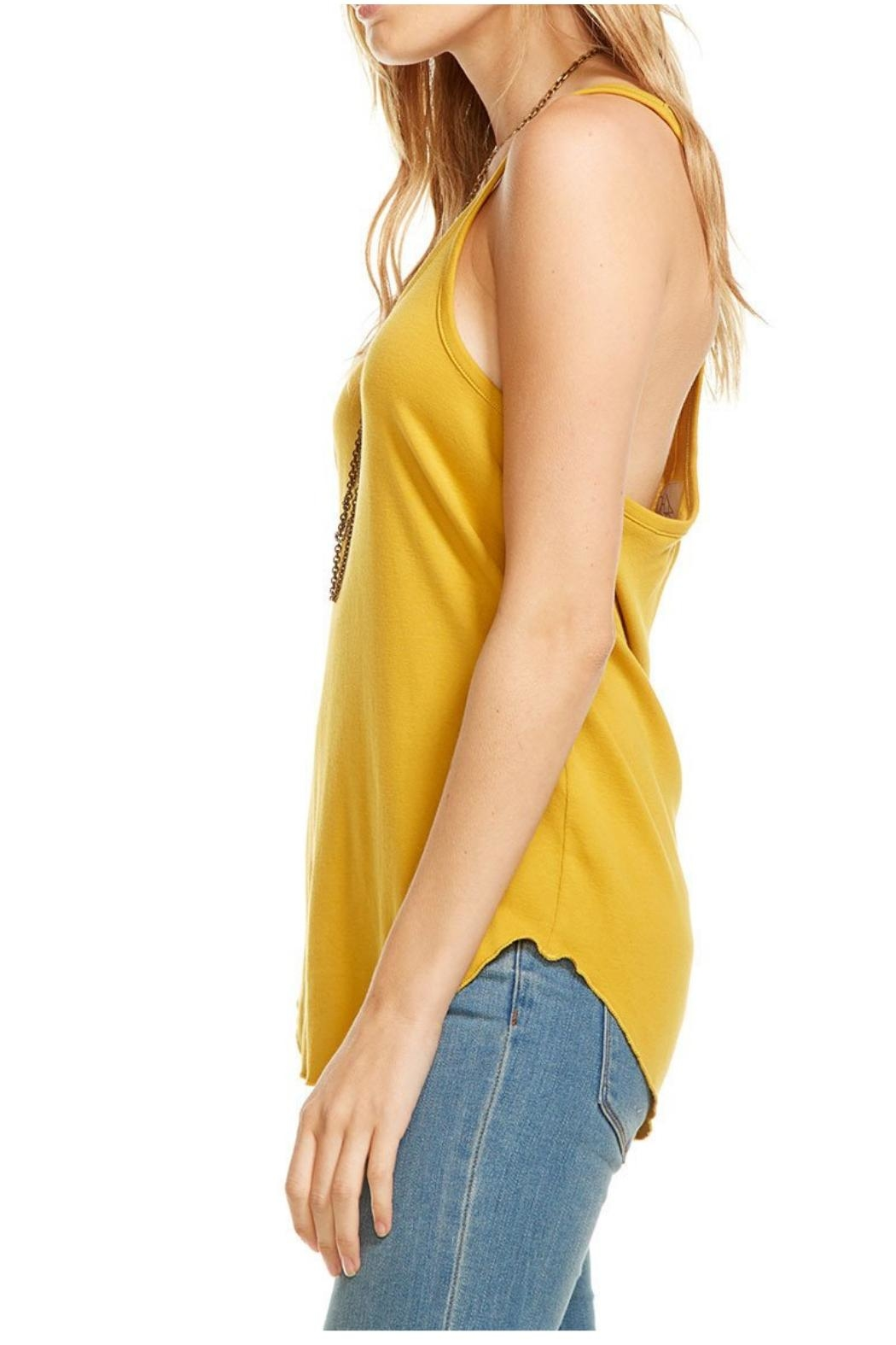 Chaser Yellow Tank Top - Front Full Image